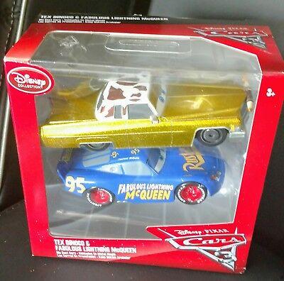 Cars 3 Fabulous Lightning McQueen & Tex Dinoco Diecast 1:43 Scale