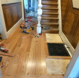 Top Quality flooring installation, Stairs, Doors and Baseboards