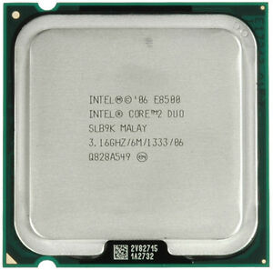 Intel  E8500   Core2Duo CPU