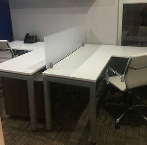 EUC Office Furniture - Dual Workstation, Chairs, File Drawer