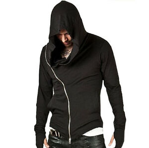 Arizona Fashion Men's Cool Black Hoddies for Autumn/Winter