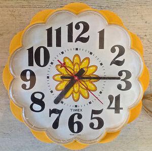 Vintage 1960. Collection. Ancienne horloge électrique TIMEX