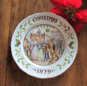 "1979 Christmas Plate ""Mr Fezziwigs Ball"" A Christmas Carol Kitchener / Waterloo Kitchener Area image 4"