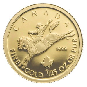 2006 COWBOY GOLD COIN - CANADA