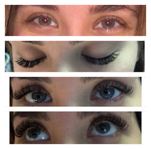Promotions:all types Eyelash extensions,keratin lift West Island Greater Montréal image 1
