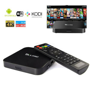 ANDROID 6.0  S905X QUAD-CORE 1GB/8GB  KODI 17.4