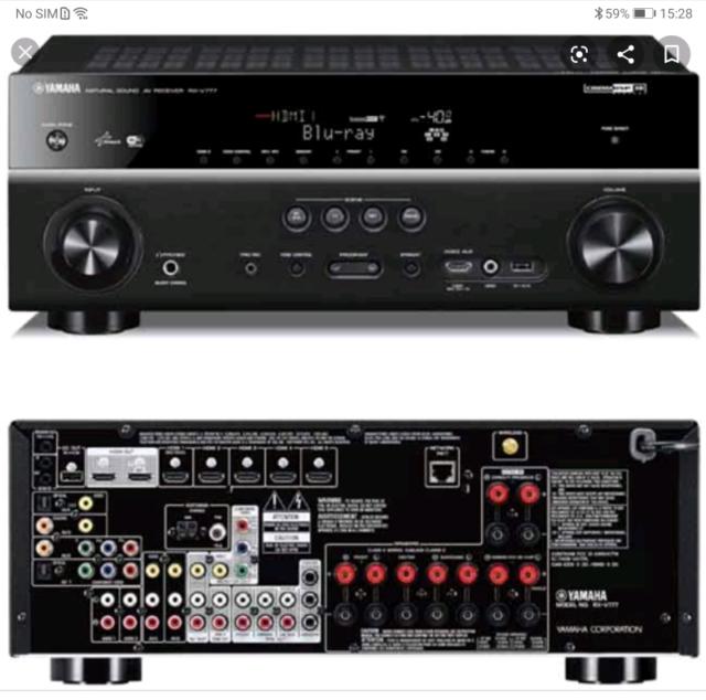 Yamaha Rxv777 7 2 Av Receiver 4k | in Bargoed, Caerphilly | Gumtree