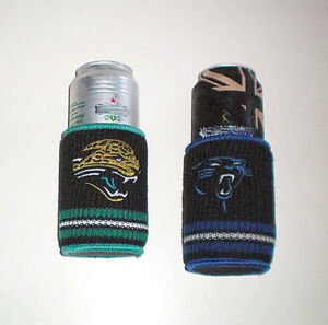 NFL Jaguars and Panthers Woolie Drink Holder Coolers London Ontario image 1