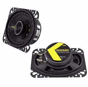 Kicker  4x6 Co-axial Automotive Speakers -New in box
