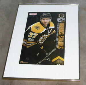SEVERAL BRUINS FRAMED 18 X 24 IN INCLUDING PATRICE BERGERON