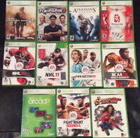 Over 60 Xbox 360 Games For Sale!! Console Bundle!!