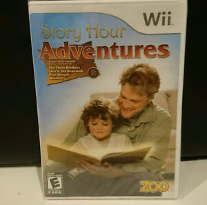 0-4 year olds Nintendo Wii Video Game Story Hour Adventures NEW!