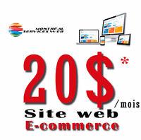 Création de sites web - Promotion 299$