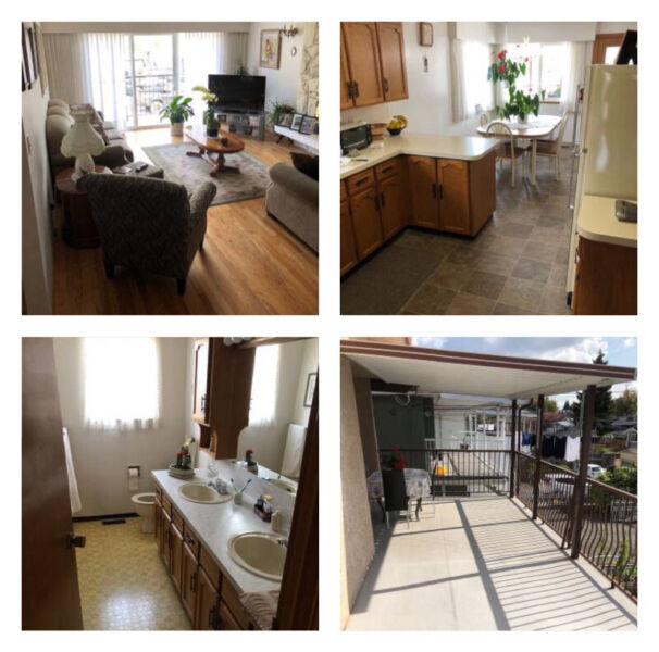 3 Bedroom 2 Bathroom Main Floor House For Rent