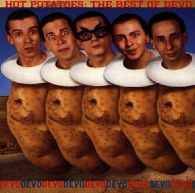 "DEVO ""HOT POTATOES/BEST OF"" CD NEUWARE"