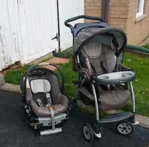 Baby carriage and car seat