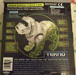 Tekno - The Robotic Puppy (NEVER out of the BOX ! !) Strathcona County Edmonton Area image 2
