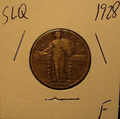 SILVER U.S. STANDING LIBERTY QUARTER 1928