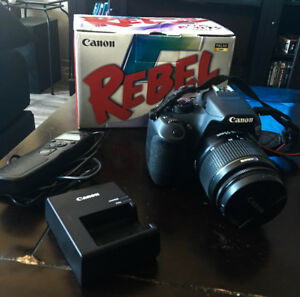 Canon Rebel EOS T5 DSLR Camera Kit