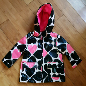 Lined 2T raincoat - perfect for fall