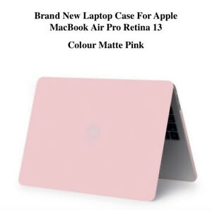 Laptop Case For Apple MacBook Air Pro Retina 13 Matte Pink