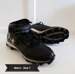 Under Armour Football Cleats - Mens size 7