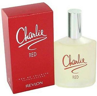 Charlie Red By Revlon Perfume 3 4 Oz 3 3 Edt New In Box