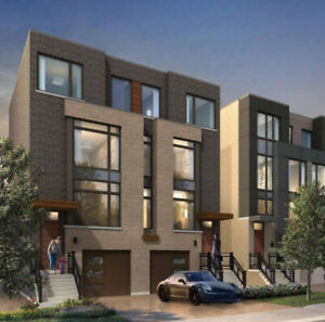 NEW RAVINE ENCLAVE OF SEMI-DETACHED IN TORONTO-be first!
