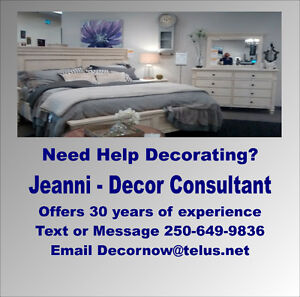 Need help with decorating your home? Call Jeanni