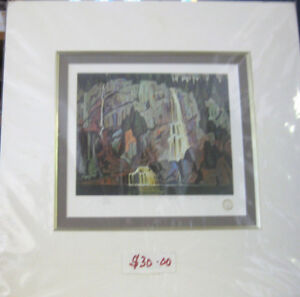 Algoma Waterfall by Lawren Harris
