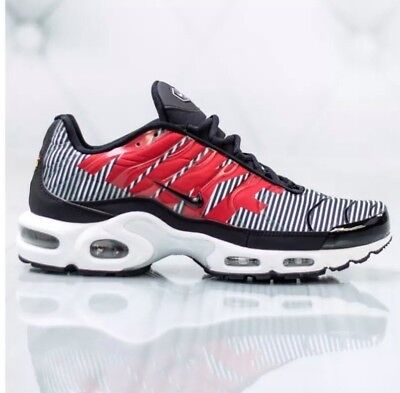 88d0adf540 Clothing, Shoes & Accessories Nike Air Max Plus TN Tuned 1 La Requin The  Shark Teeth Black White ...