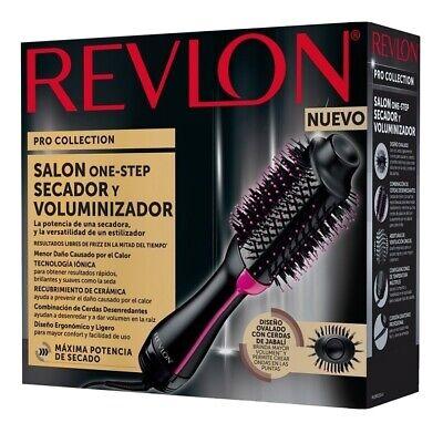Revlon One-Step Saç Kurutma Makinesi ve Volumizer Sıcak Hava Fırçası, Siyah / Pembe