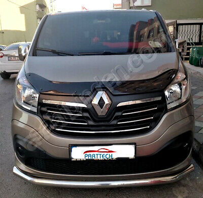 RENAULT TRAFIC Onwards 2014 BONNET WIND STONE DEFLECTOR PROTECTOR GUARD NEW