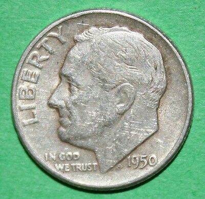 Us Roosevelt Silver Dimes Price Per Each Coin 1950 P 1950 D  Check Inventory