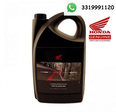OLIO HONDA 10W-30 JASO-MA CONFEZIONE 4 LITRI Synthetic Tecnology 4 STROKE OIL