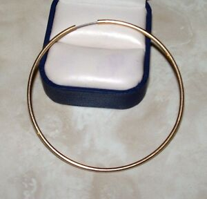 72MM GOLD HOOP EARING