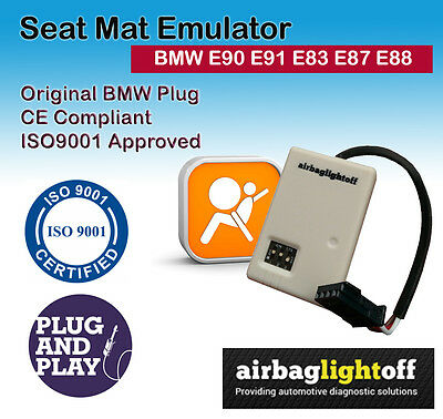 Seat Occupancy Emulator For BMW E90E91E92E81E87X5X3X6Z4 Mat Sensor Airbag Bypass