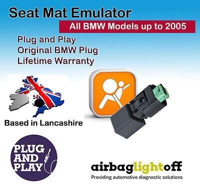 PASSENGER SEAT OCCUPANCY BYPASS MAT SENSOR AIRBAG Emulator For BMW X3 E83 X5 E53