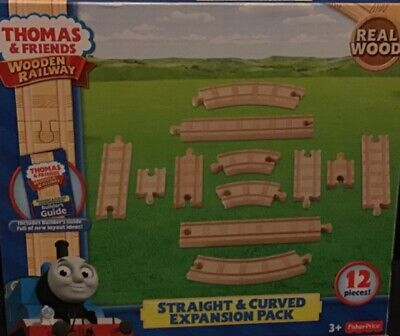 FISHER-PRICE Thomas & Friends Wood Train Track, Expansion Pack NEW