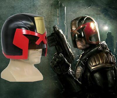 Judge Dredd Helmet Movie Cosplay Replica Mask for Halloween Costume Props - Dredd Costume Halloween