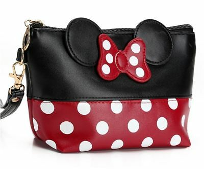 Mickey Mouse Makeup (Fashion Mickey Mouse Women Cosmetic Bag Travel MakeUp Organizer Case US)