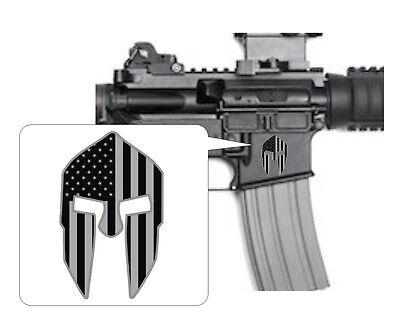 "Glock White Window Vinyl Sticker//decal Gun Tactical AR AK Hunting Approx 4"""