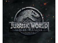 Jurassic World cinema tickets for tonight!
