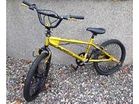 SILVERFOX BULLION BMX BIKE. £50