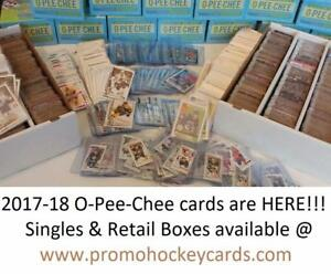 2017-18 OPC & Upper Deck UD MVP Boxes & Hockey Card Singles Available! Taking Preorders on UD1, Artifacts & TML