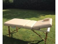 "The Deauville portable ""Masters Massage Table"""