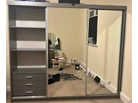 Clearance Sale On Brand New CHICAGO Sliding Door Wardrobe (90cm to 250cm Sizes)