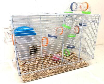 Acrylic 2-Levels Hamster Habitat Rodent Gerbil Mouse Mice Ra