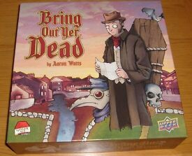 Bring Out Yer Dead - morbid family board game