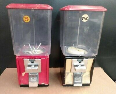 2- Northwestern Super 60 Candy Nut - Gumball Vending Machines